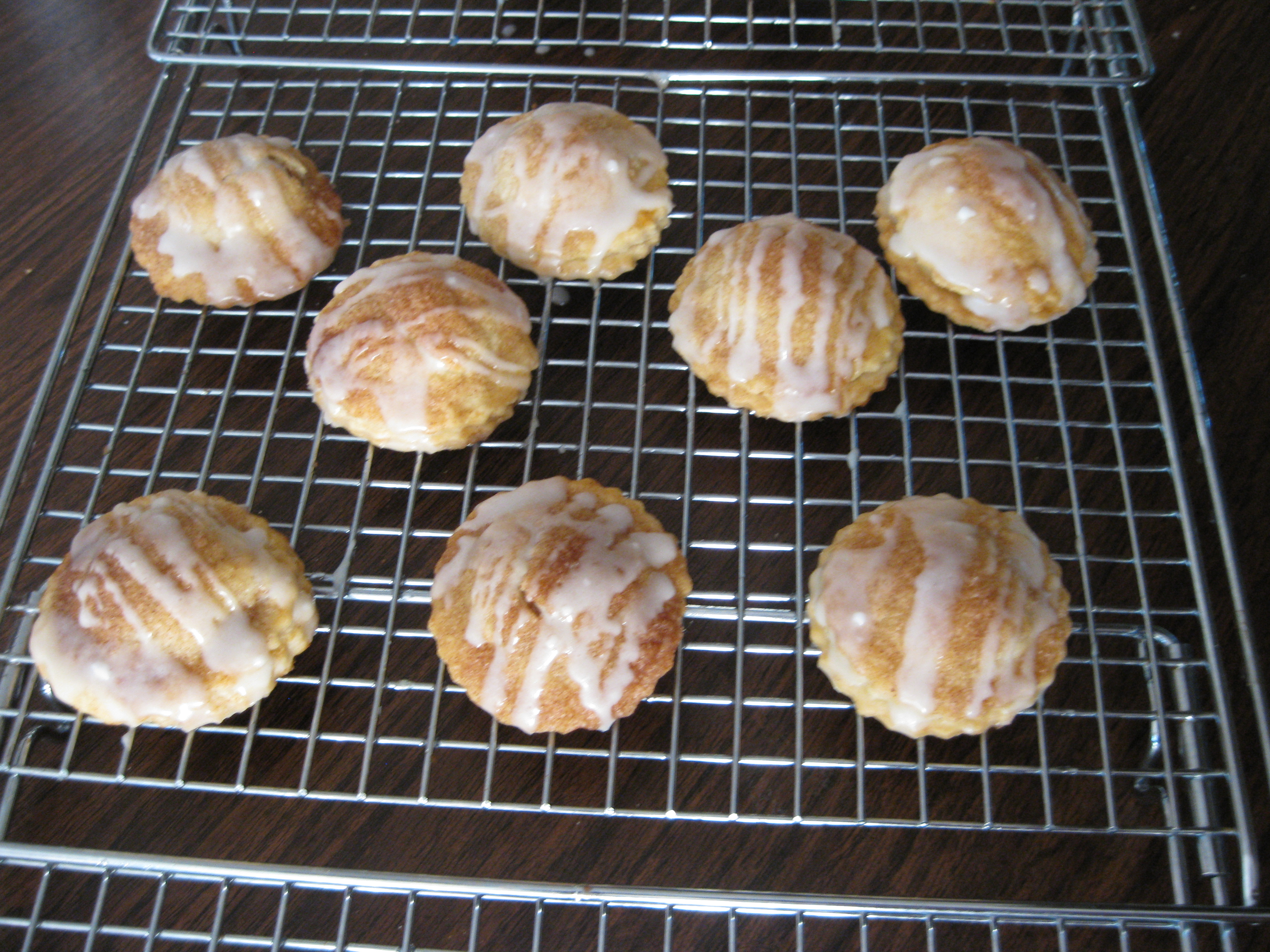 Inside Out Cinnamon Bun Pie Pockets Recipe — Dishmaps
