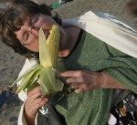 Eating fire-roasted corn makes me happy too