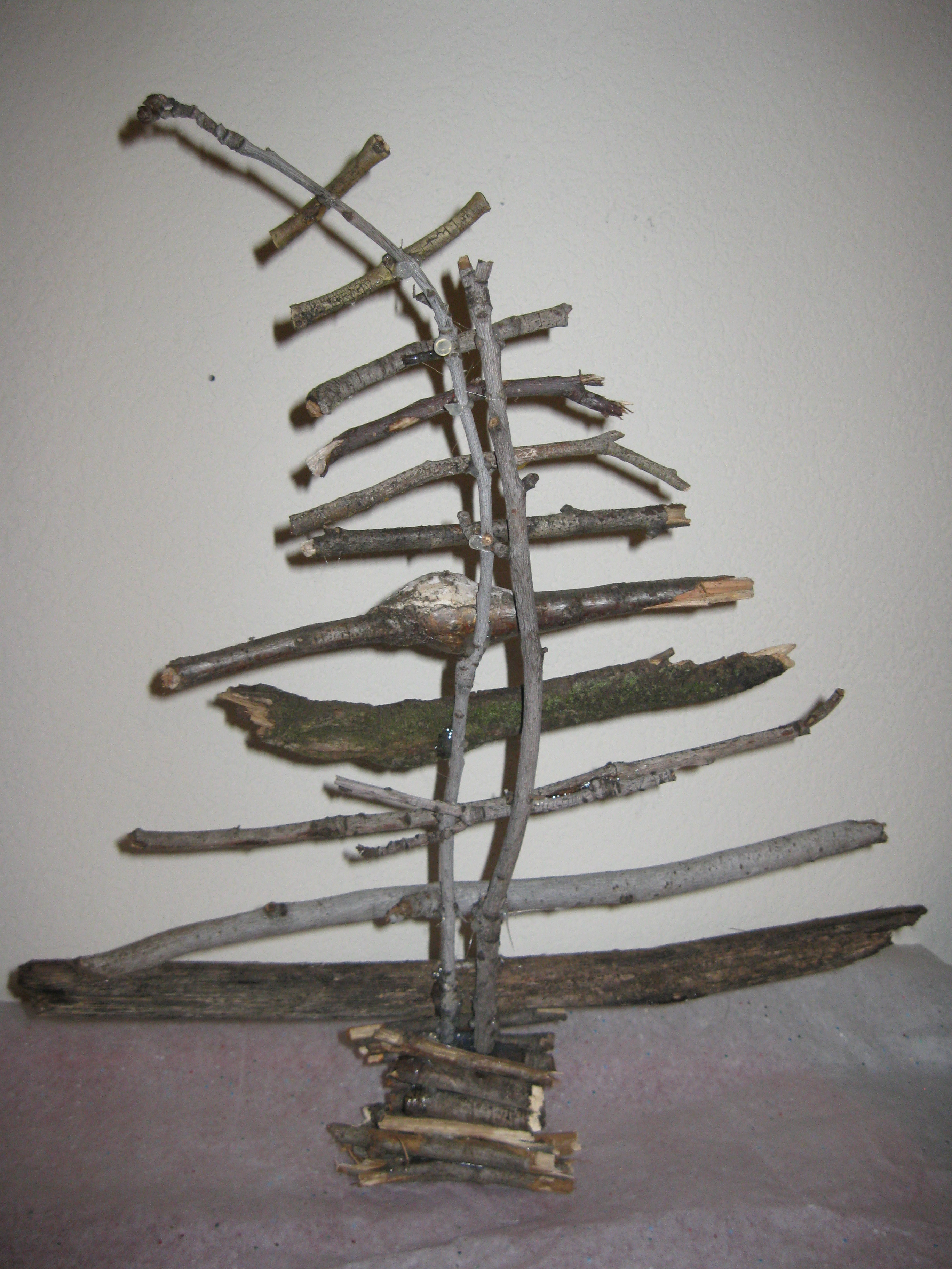from sticks to twig christmas tree fruitful words