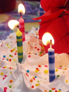 Thsi year when I blew out the candles, I had more in mind than birthday wishes. I had a plan: a Yearlong Birthday Plan.