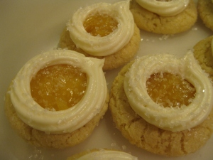 These marshmallow lemon snowdrift cookies are so delicious esp since we made the sugar cookies from scratch.