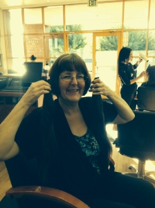 Day 28 - I celebrated my recent weight loss by cutting my long hair. I am donating it to Locks of Love.
